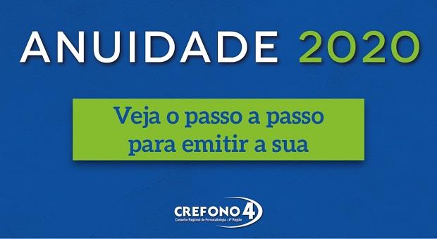 CONSELHO FEDERAL DE FONOAUDIOLOGIA PRORROGA PRAZO DE PAGAMENTO DA ANUIDADE